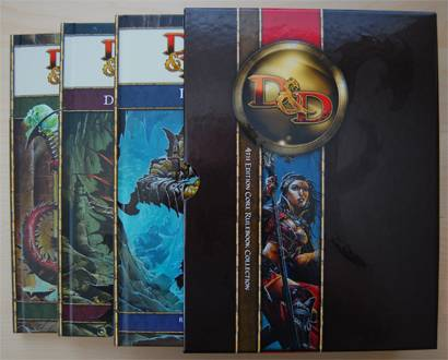 A GM's First Impressions of D&D 4e: Looks Like Fun
