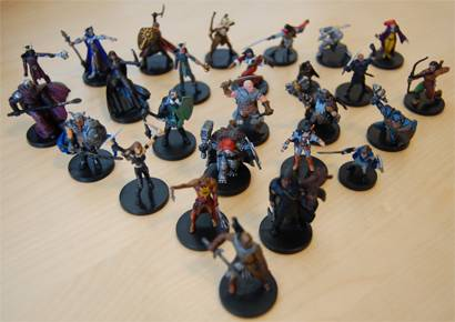 El Cheapo Miniatures for Fantasy PCs