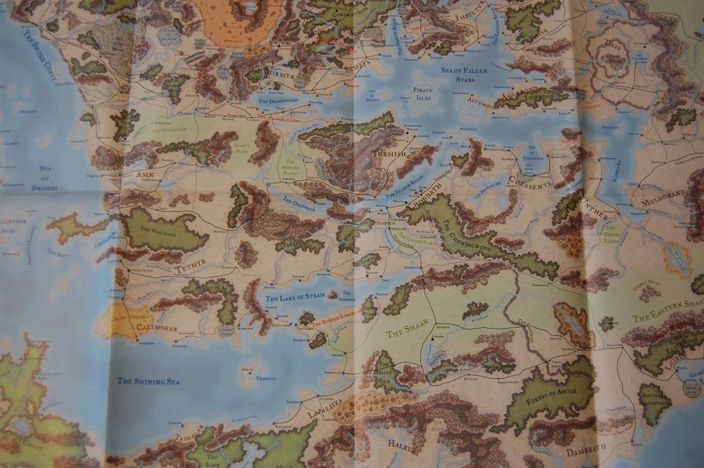 4th edition forgotten realms campaign guide review big changes for completeness sake here are large images of the entire new map gumiabroncs Image collections