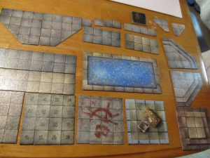 A selection of Dungeon Tiles will serve as inspiration for this project.